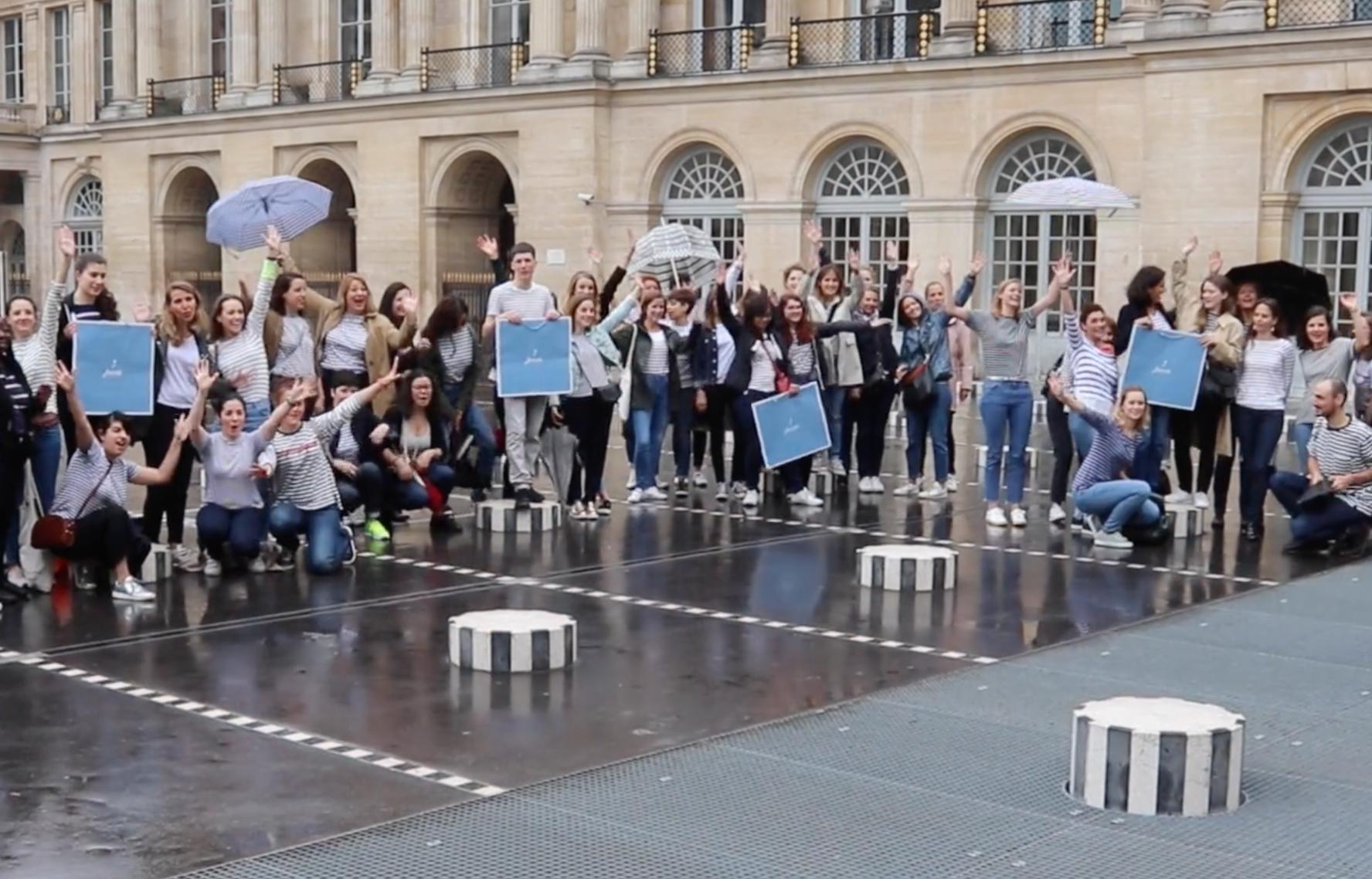 Red de videógrafos profesionales myphotoagency europe informando eventos Jacadi IDKids